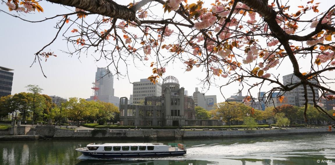 Hiroshima & blossoms