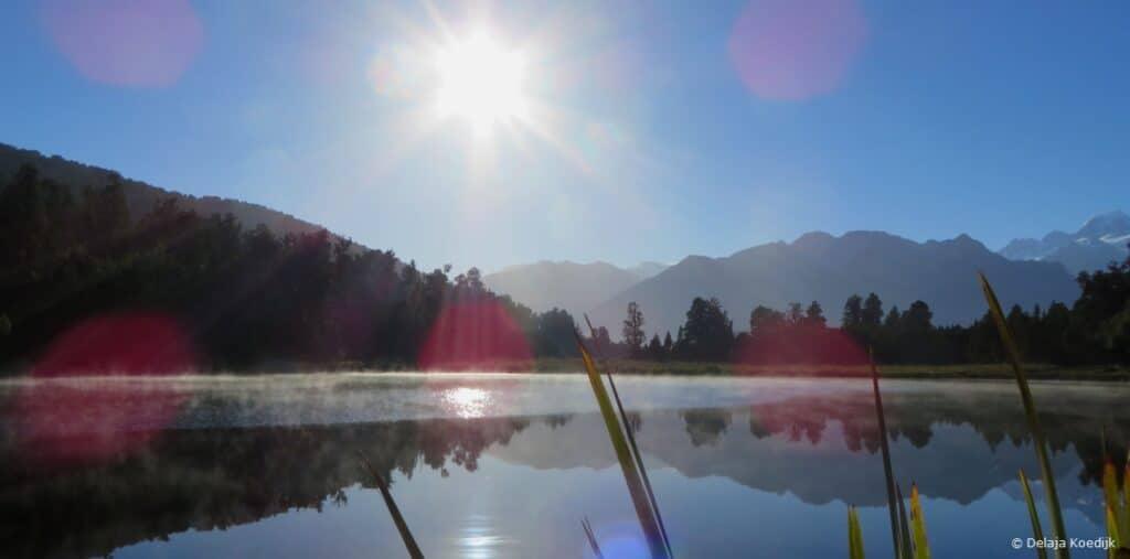 Lake Matheson Mirror Lake New Zealand