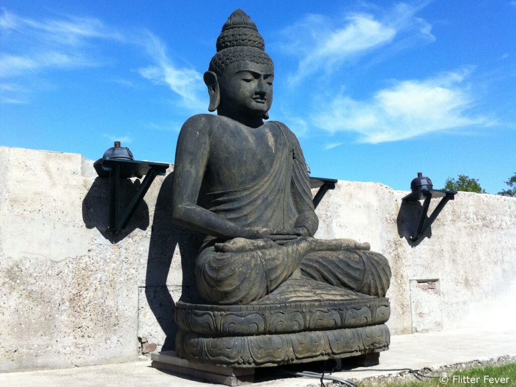 Fort Resort Beemster Buddha garden saunatips expat Netherlands