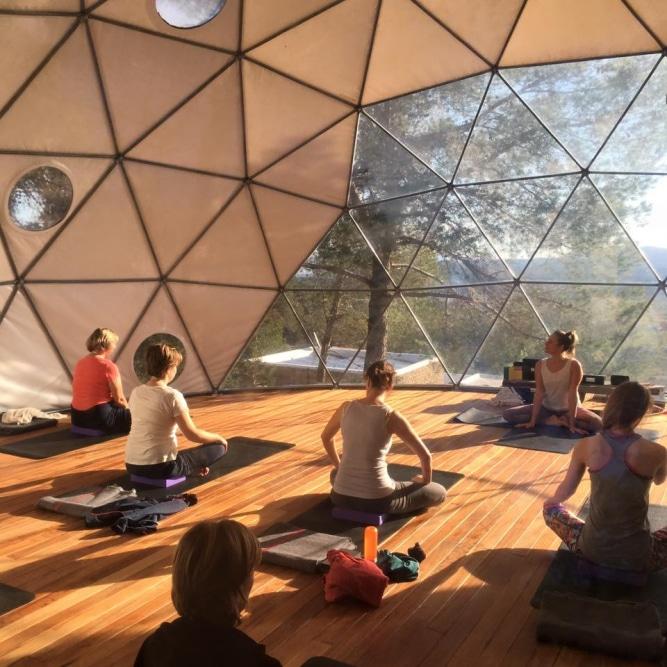 Yoga Dome @ Ibiza (Retreat Yourself)