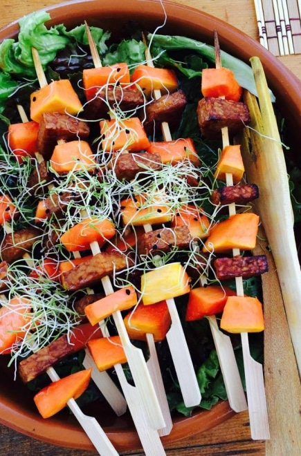 Fruit on a stick (Retreat Yourself)