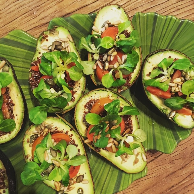 Avocado snack @ Retreat Yourself