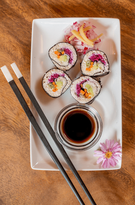 Sushi time!! (Morna Retreat)