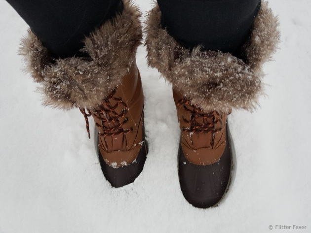 My cute winter boots from Lidl