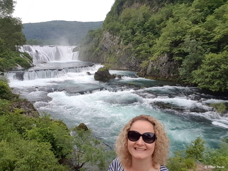 Great to be at Una National Park in Bosnia and Herzegovina