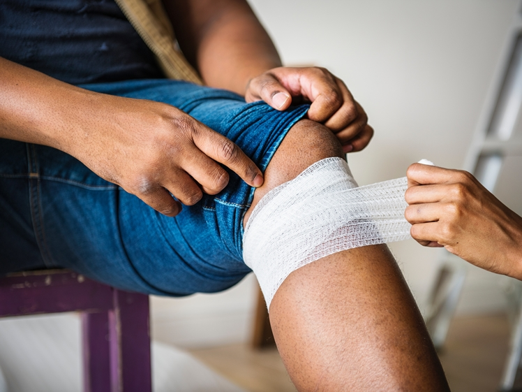 An injury can seriously ruin your holiday