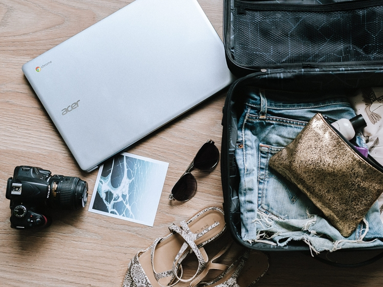 Your luggage may contain valuable stuff (photo credits Anete Lusina)