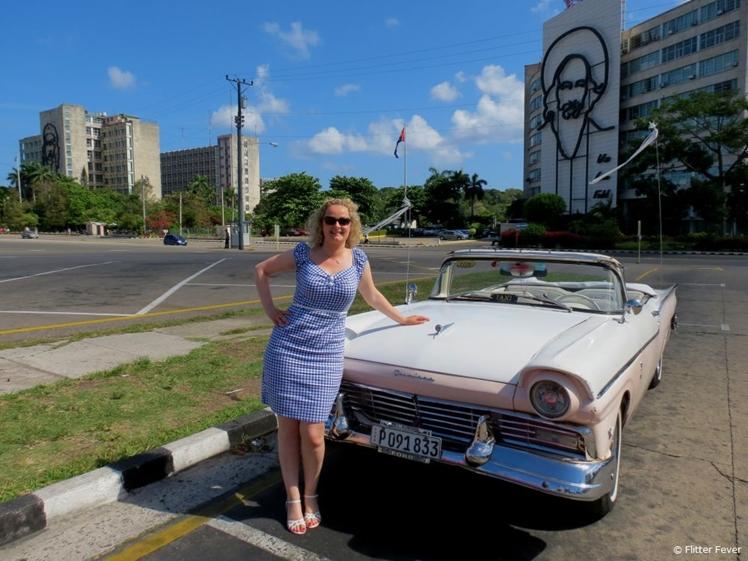 Plaza de Revolucion in Havana, Cuba