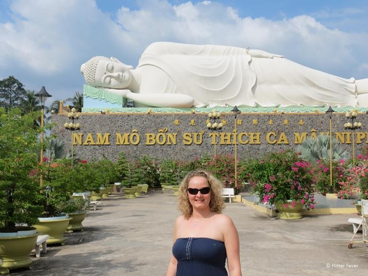Lying Buddha statue Vietnam