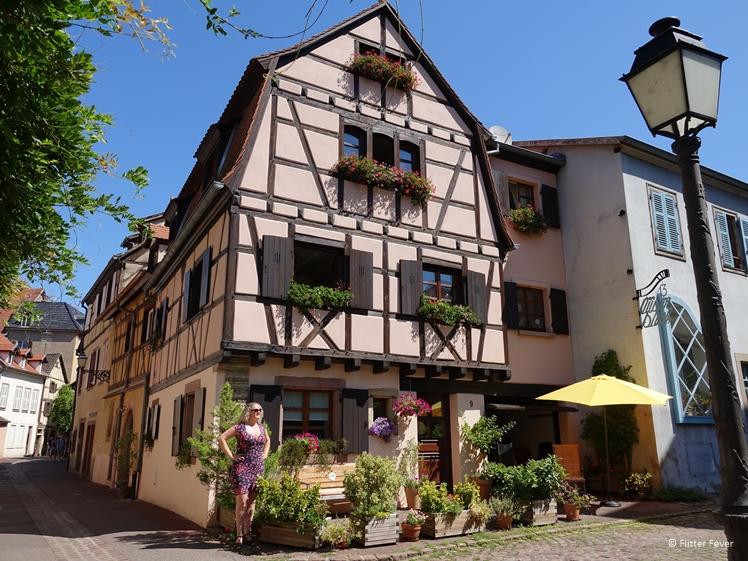 Cute house at Rue de la Herse in Colmar