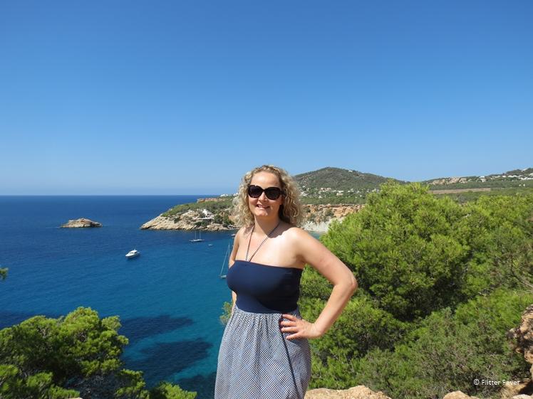 Strike a pose at Cala d'Hort Ibiza