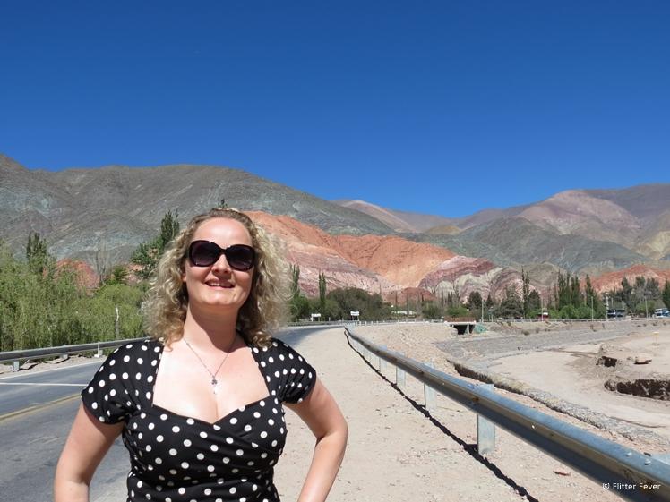 Cerro de los Siete Colores Purmamarca and me