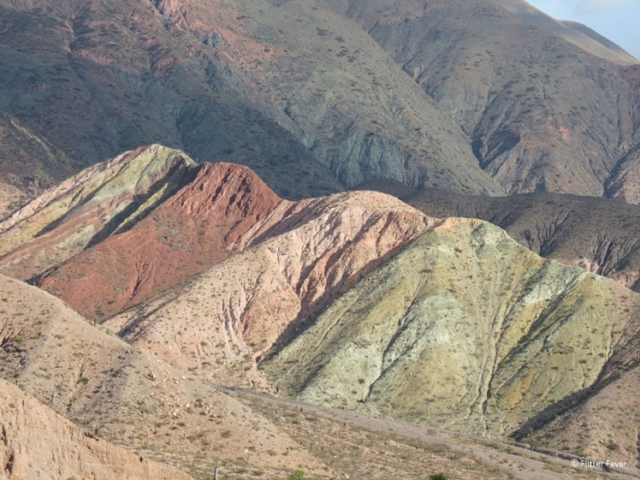 Colorful mountains of Calilegua National Park
