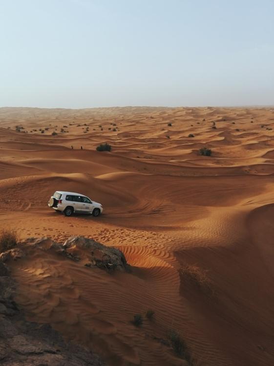Jeep Safari at Arabiab Desert Dubai UAE