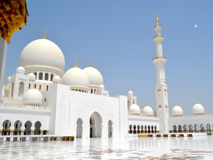 Sheikh Zayed Grand Mosque Center, Abu Dhabi, UAE