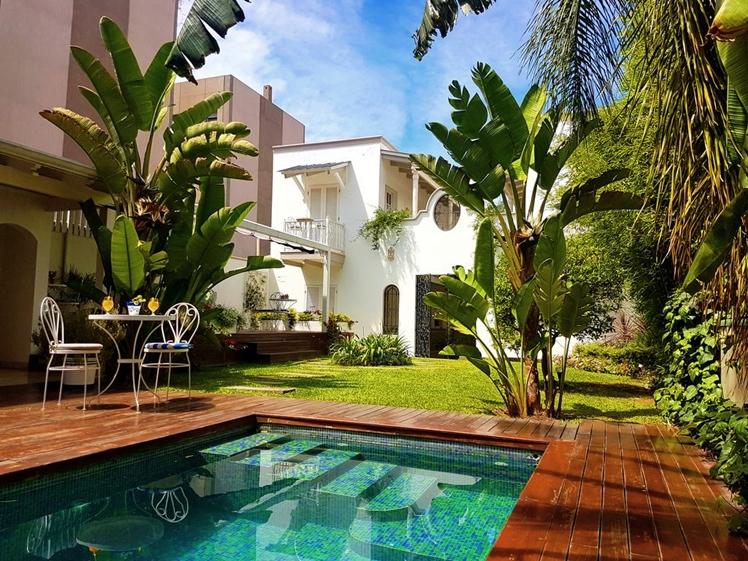 Villa Vicuña Hotel Boutique Salta garden