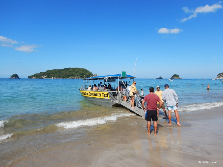 Cathedral Cove Water Taxi Coromandel