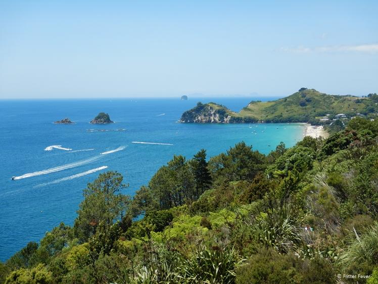 View towards Hahei Beach