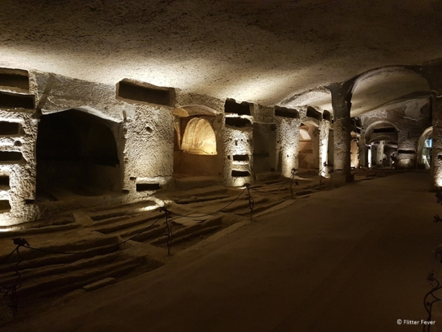 Catacombs of San Gernnaro Naples Napoli