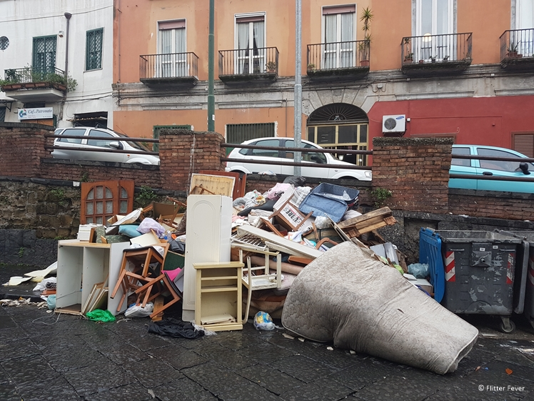 Naples waste problem Napoli