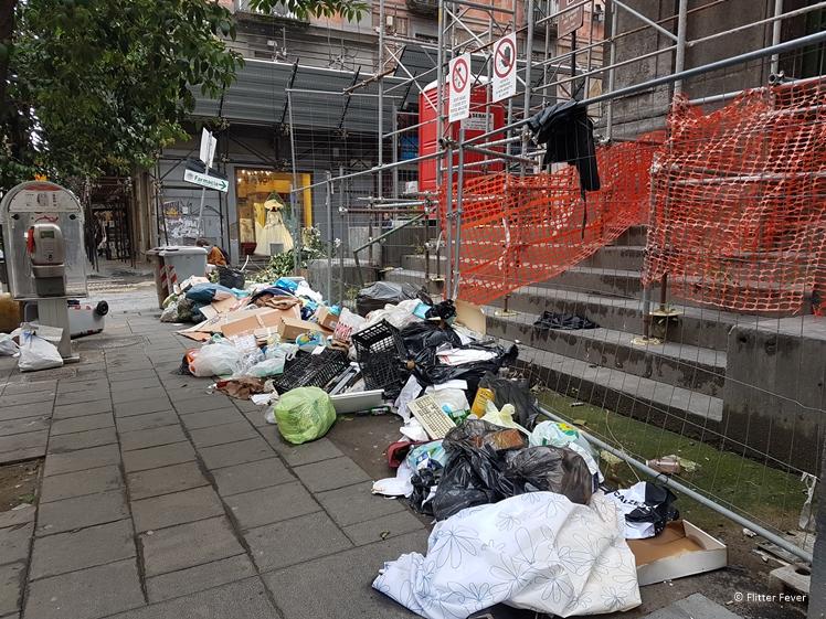 Naples has a big waste problem