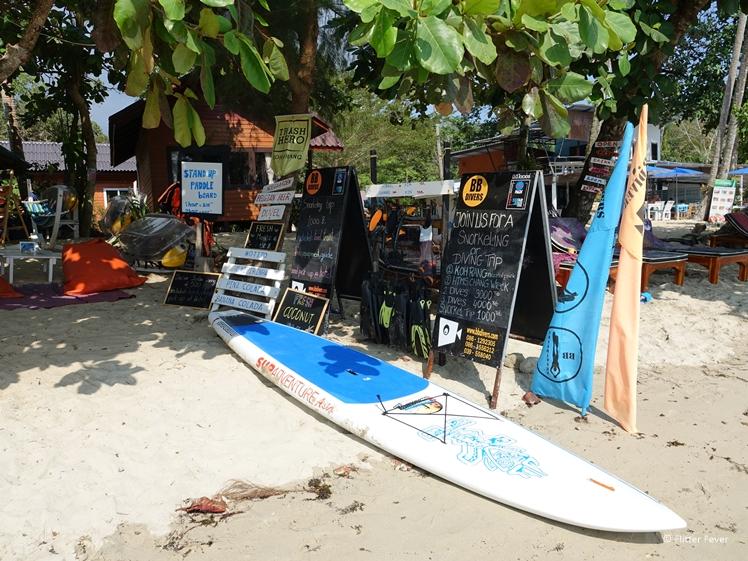 BB Divers at Bang Bao Beach Koh Chang