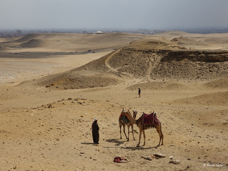 Desert at Giza Plateau Egypt