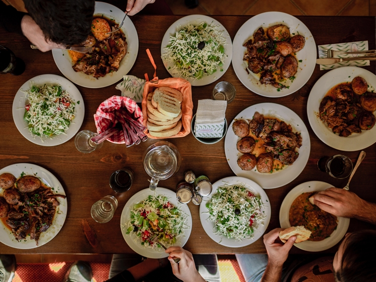 Traditional Bulgarian Food in Sofia