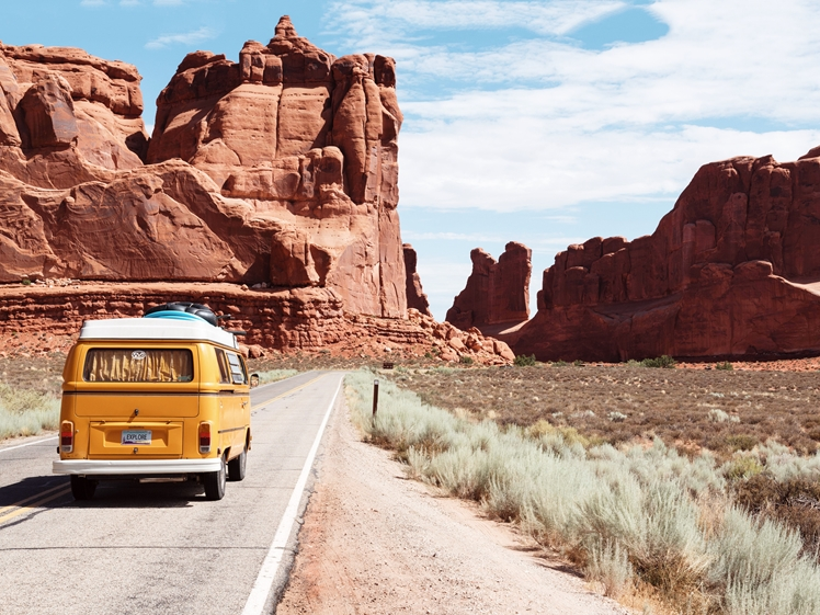 A road trip can be planned easier last-minute