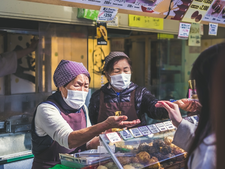 People wear face masks in the hope it will protect them against Corona virus