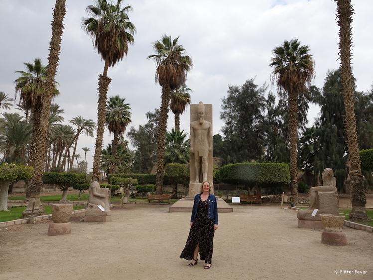 Memphis outdoor museum near Cairo
