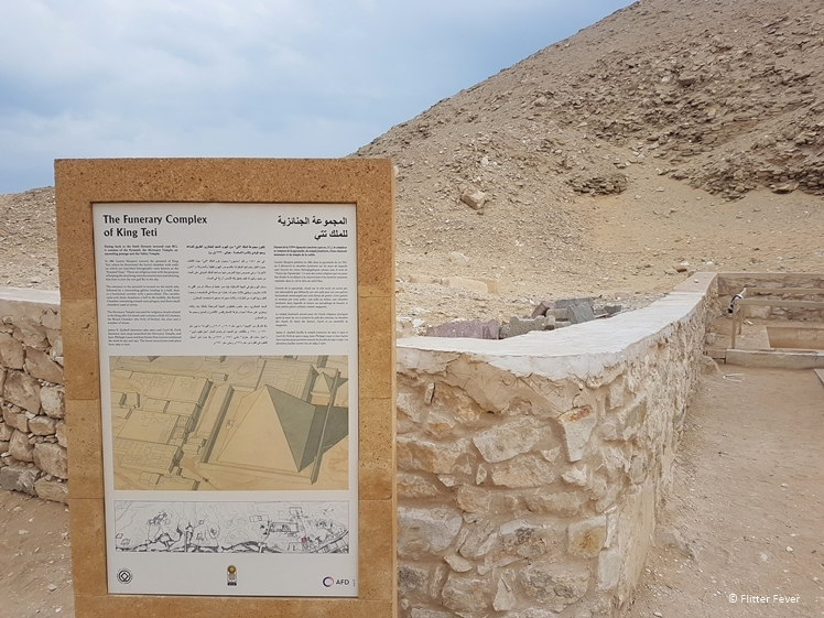 Outside the Funerary Complex of King Teti Saqqara