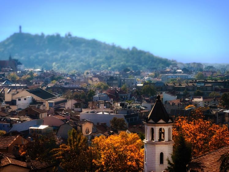 Plovdiv near Sofia