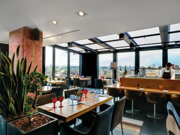 Sense Hotel Sofia rooftop restaurant bar