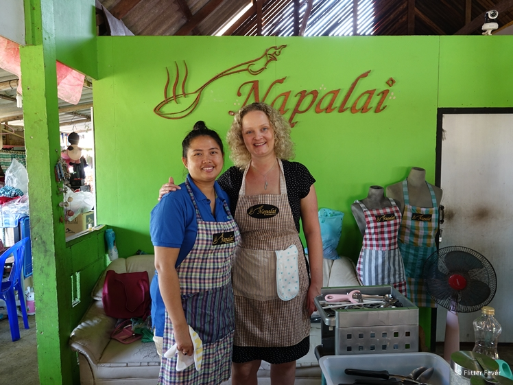 Thai Cooking Class at Napalai with chef teacher Bunny
