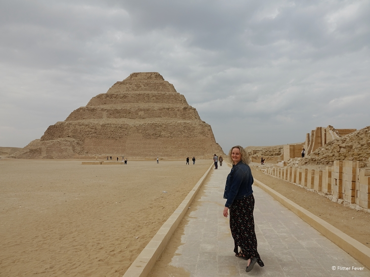 The Pyramid of Djoser, one of the best pyramids near Cairo