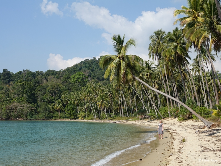 Wae Chaek Beach needs a bit of a clean up still but is lovely anyway Koh Chang