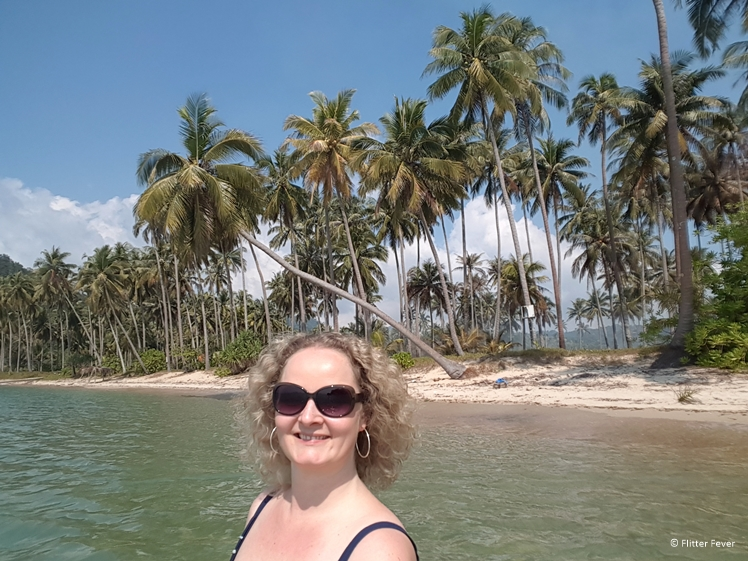 Wae Chaek Beach Koh Chang selfie