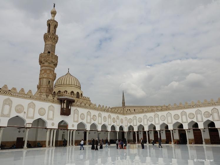 Al-Azhar Mosque Cairo courtyard