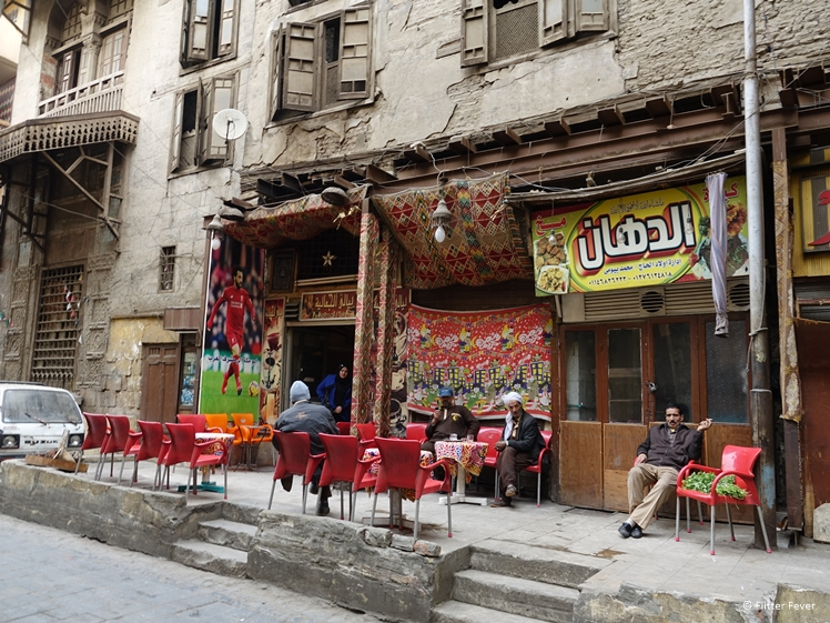 Coffee bar in Historic Cairo Egypt