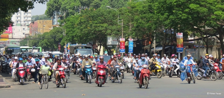 traffic Ho Chi Minh City
