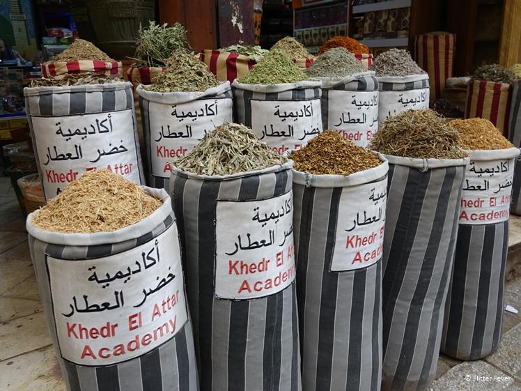 Khedr Al Attar spices market Cairo