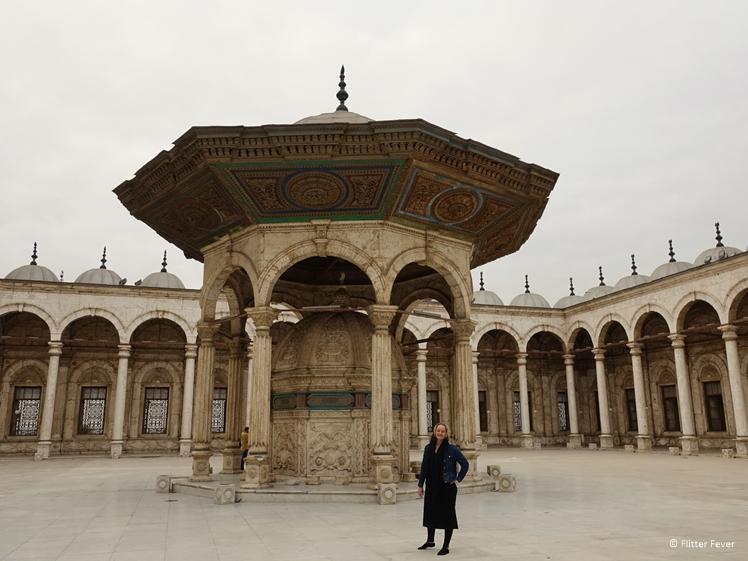 Mohammed Ali Mosque Cairo courtyard