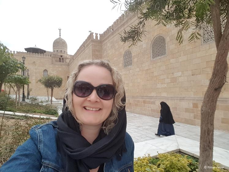 outside the Al-Azhar Mosque Cairo
