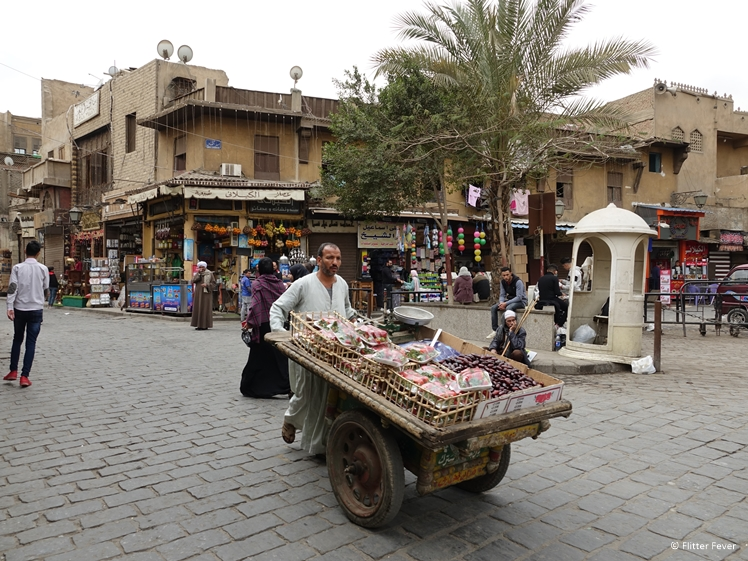 The fruit man in Historic Cairo