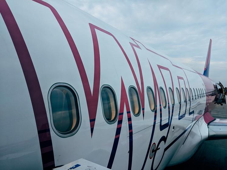 Wizz airplane (photo credits Markus Winkler)