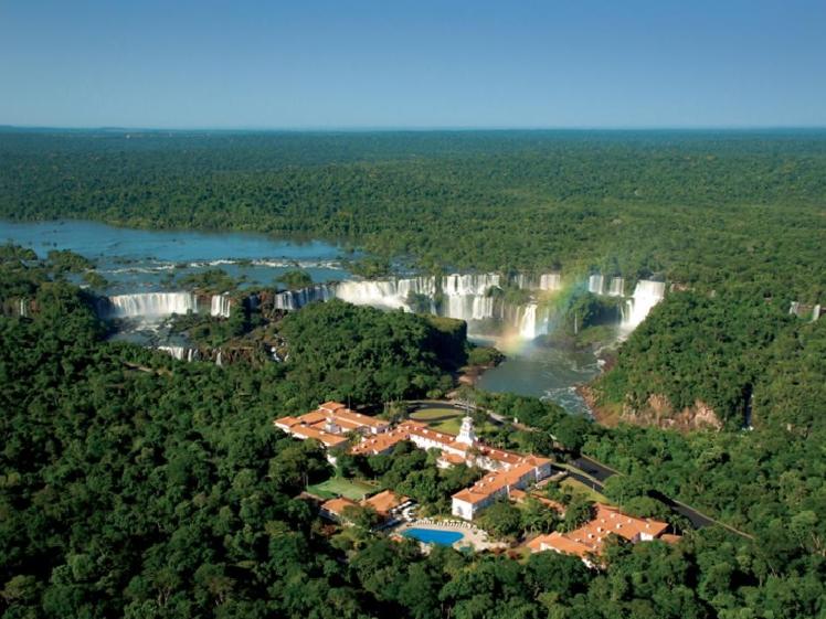 Iguazu Falls Belmond hotel bird view