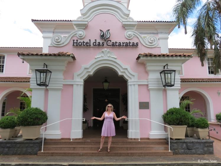 Iguazu Falls Belmond Hotel entrance