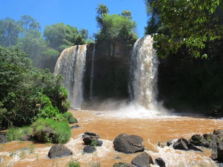 Iguazu Falls Lower Trail waterfall