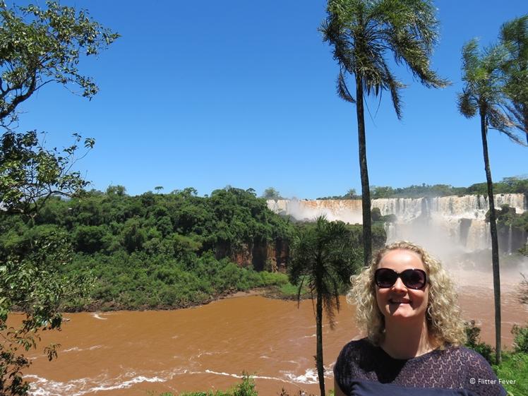 Sunny weather at Iguazu Falls in November
